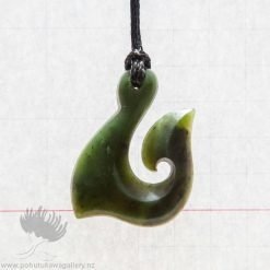 new zealand greenstone pendant hook