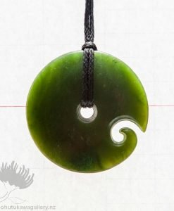 new zealand greenstone pounamu koru