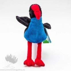 new zealand finger puppet, Pukeko