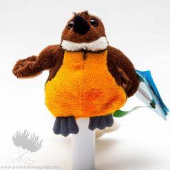 new zealand finger puppet, Fantail