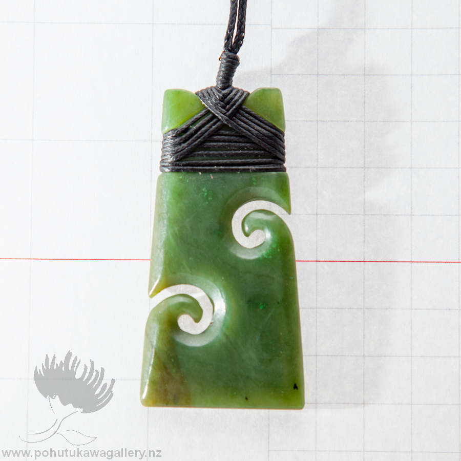 NZ Greenstone Pendant
