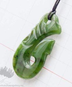 New Zealand Greenstone Pendant