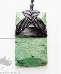 new zealand greenstone pendant toki