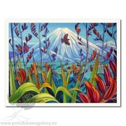 Mt Ngauruhoe by Irina Velman - Art Prints New Zealand