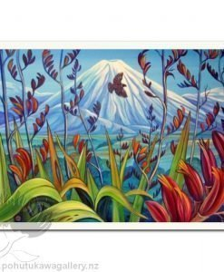 Mt Ngauruhoe by Irina Velman - Art Prints New Zealand