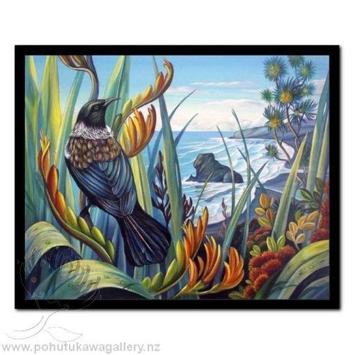 Tui Vista by Irina Velman - Art Prints New Zealand