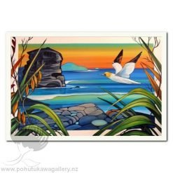Muriwai by Irina Velman - Art Prints New Zealand