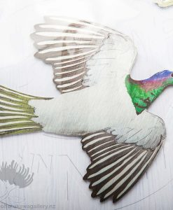 new zealand kereru wall art