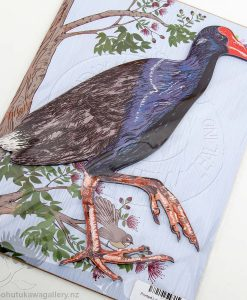 new zealand pukeko wall art