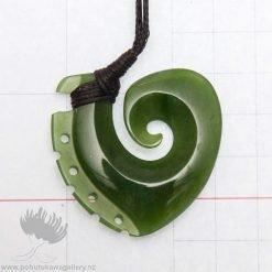 new zealand greenstone pendant hook