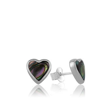 3E40005-Paua-Heart-Studs
