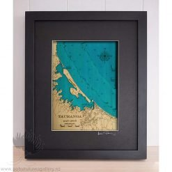 new zealand hydrographic chart artwork