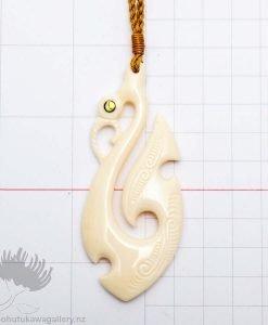 bone carving pendant