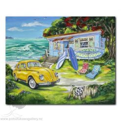 Caren Glazier Print Summer Holiday Beetle Summer