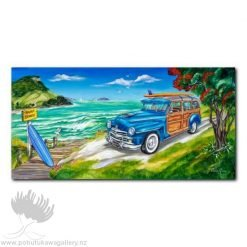 Caren Glazier Print Summer Holiday Cruising With Woody