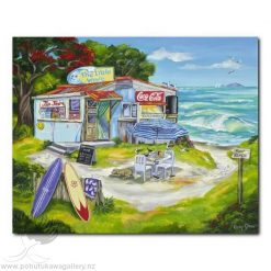 Caren Glazier Print Summer Holiday The Little Wave