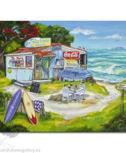 Caren Glazier Print Summer Holiday The Little Wave