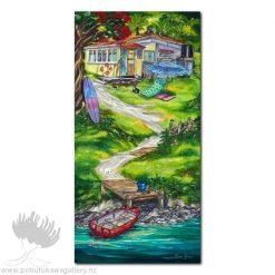 Caren Glazier Print Summer Holidays Summer Retreat