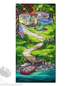 Caren Glazier Print Summer Holidays Summer Retreat