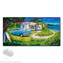Caren Glazier Print Summer Holidays Chevy Summer
