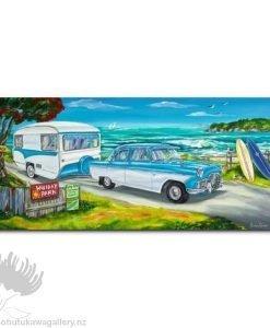Caren Glazier Print Summer Holidays Holidays With Zephyr