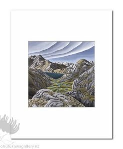 Diana Adams - Valley Of The Trolls | Matted Art Print