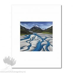 Diana Adams - River's Reach | Matted Art Print