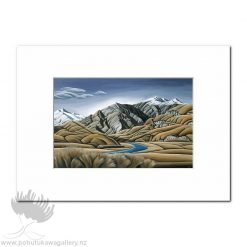 Diana Adams - Aspiring Land 2 | Matted Art Print