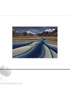 Diana Adams - River's Journey | Matted Art Print