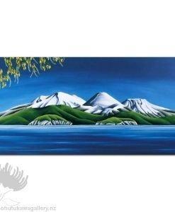 Diana Adams - Kowhai, Lake Taupo | Box Frame Print