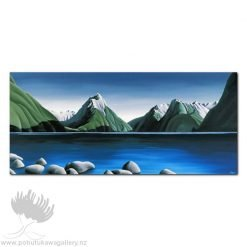 Diana Adams - Mitre Peak | Box Frame Print