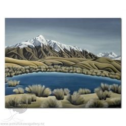 Diana Adams - Mountain Tarn | Box Frame Print