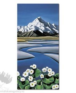 Diana Adams - Mt Cook | Box Frame Print