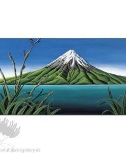 Diana Adams - Taranaki Coast | Box Frame Print