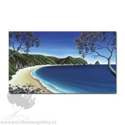 Secluded Cove, Coromandel by Diana Adams - Art Prints New Zealand
