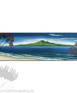 Pohutukawa, Rangitoto by Diana Adams - Art Prints New Zealand