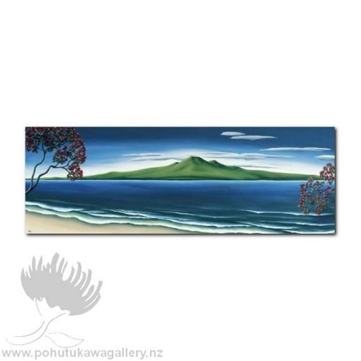 Pohutukawa, Rangitoto by Diana Adams - Art Prints New Zealand