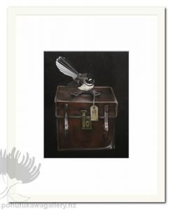 Piwakawaka's Case by Jane Crisp - Fantail Art Prints New Zealand