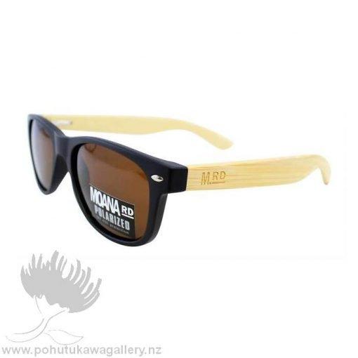 KIDS SUNNIES Moana Road NZ Black Sunglasses