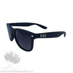 PLASTIC FANTASTICS SUNNIES Moana Road NZ Black Sunglasses
