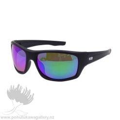 TRADIES Sunnies Moana Road NZ Black reflective Sunglasses