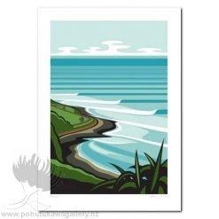 Raglan Art Print NZ
