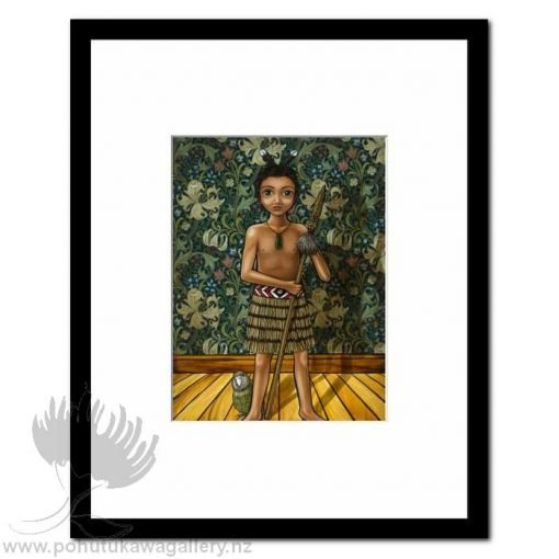 Courage by Mandy Williams - Matted Art Prints New Zealand