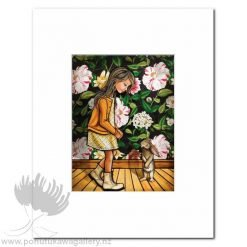 Kindness by Mandy Williams - Matted Art Prints New Zealand