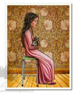 Serenity by Mandy Williams - Bunny Art Prints New Zealand