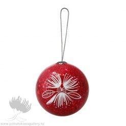 new zealand christmas decoration pohutukawa