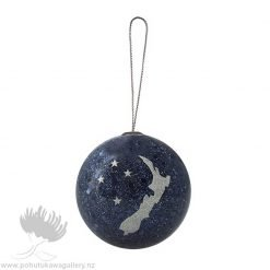 new zealand christmas decoration NZ map