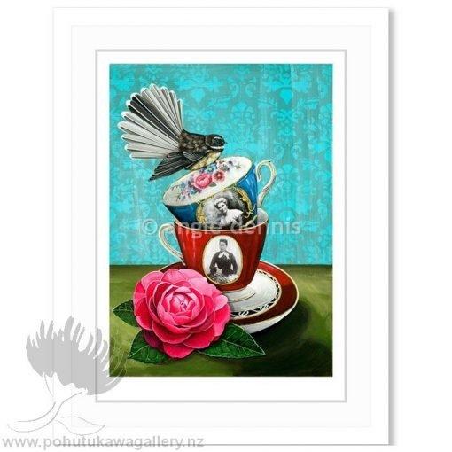 Angie Dennis NZ Art Prints Deeds Not Words