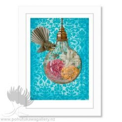 Angie Dennis Fantails NZ Art Prints The Moment lightbulb