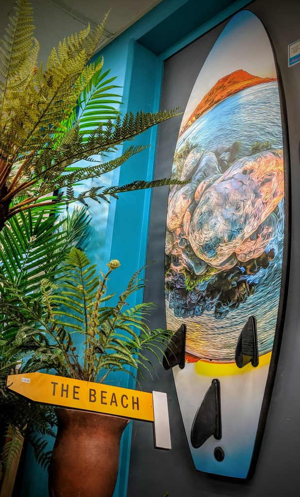 Surfboard Art Mount Maunganui Mt NZ
